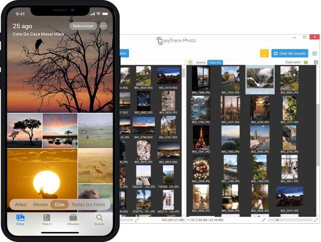 Transferir Fotos de iPhone a PC