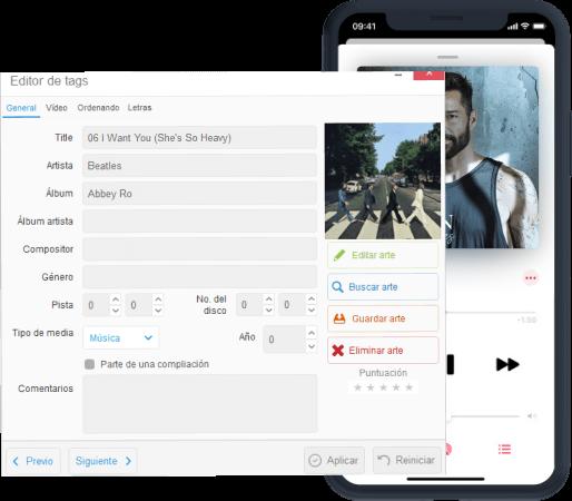 Personalizar tu música de iPhone