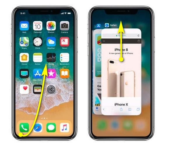 Cerrar Apps en iPhone X