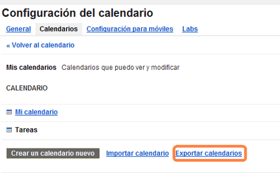 copiar calendarios iphone