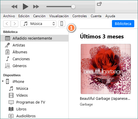 Conectar iPhone a iTunes