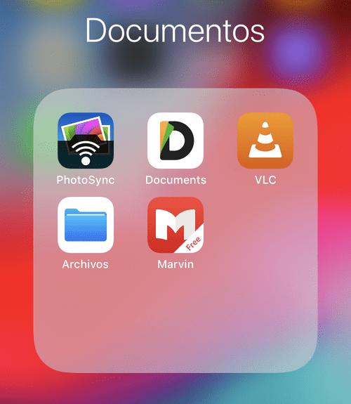 App para manejar dpcumentos