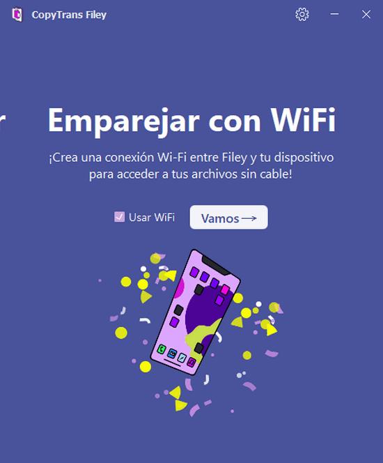 Usar WiFi