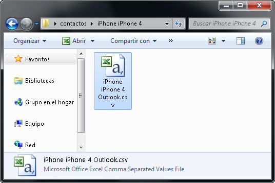 como copiar contactos de iphone a pc