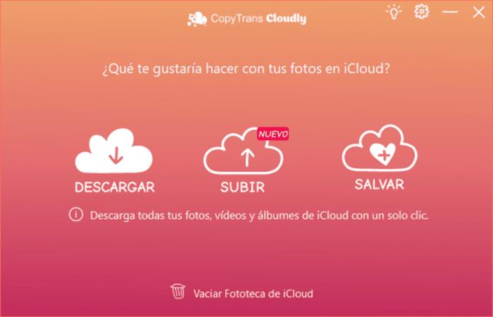 Descargar Fotos de iCloud al PC