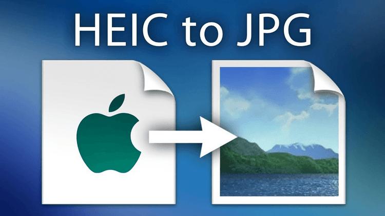 Convertir HEIC a JPG
