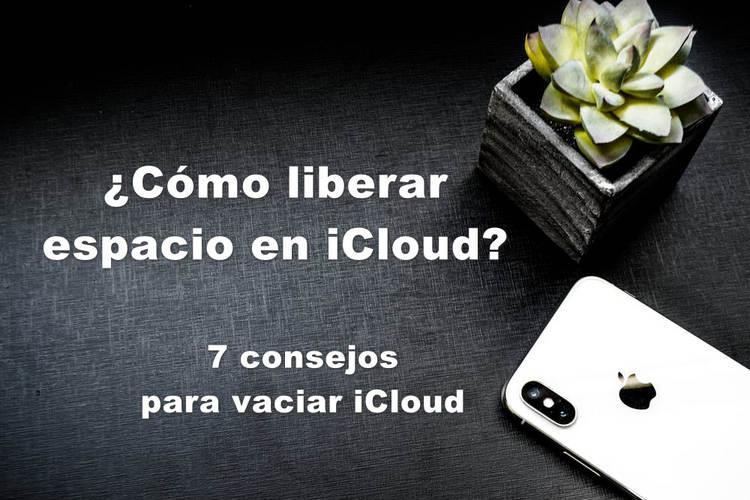 Liberar espacio de iCloud