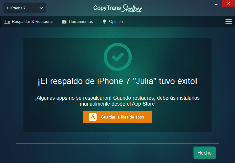 Pasar datos de un iphone a otro