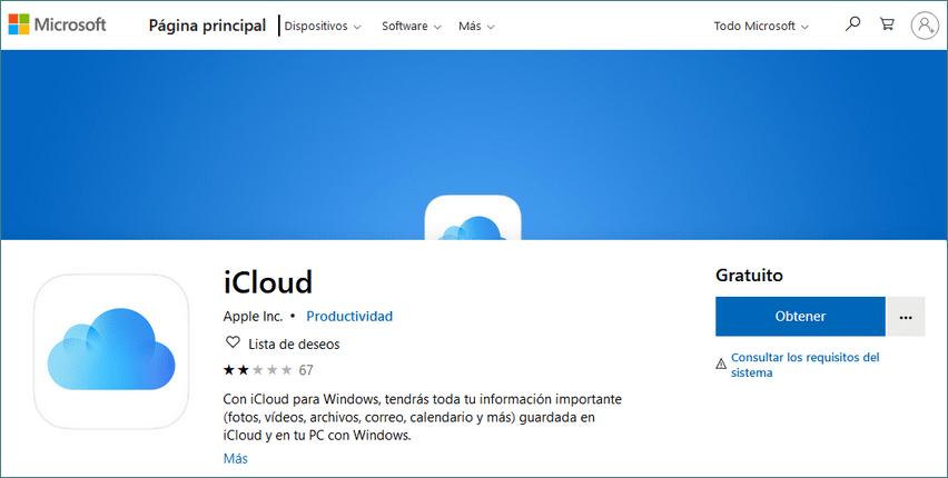 iCloud de Microsoft