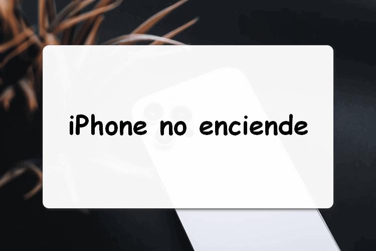 iPhone no enciende y no carga