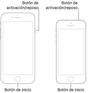 Reinicio forzado de iPhone 6